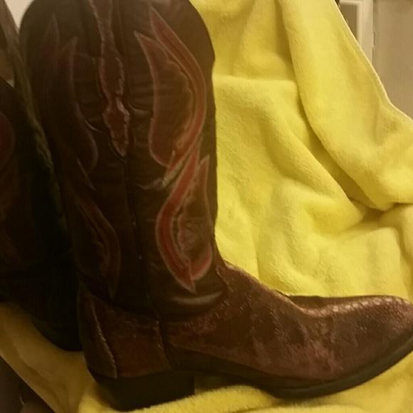 569fa73d44c El General cowboy boots